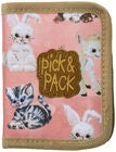Pick & Pack Plånbok Cute Animals, Pink