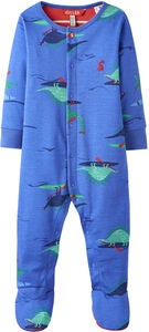 Tom Joule Jumpsuit, Blue Dino Paddle