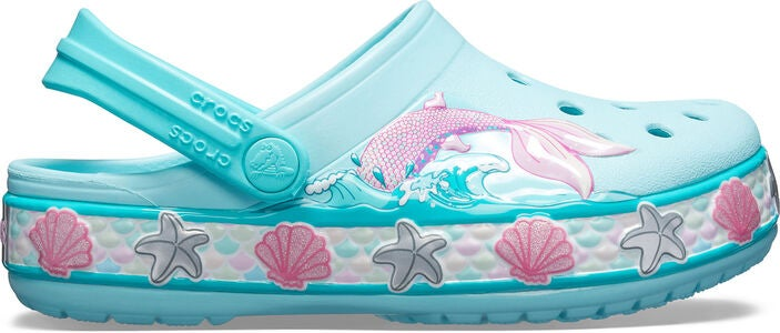 Crocs Mermaid Band Clog, Ice Blue