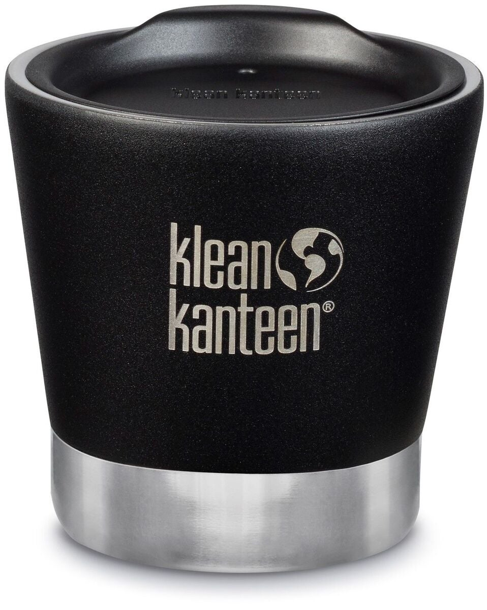 Klean Kanteen Insulated Tumbler Termosmugg med Lock  237ml, Shale Black