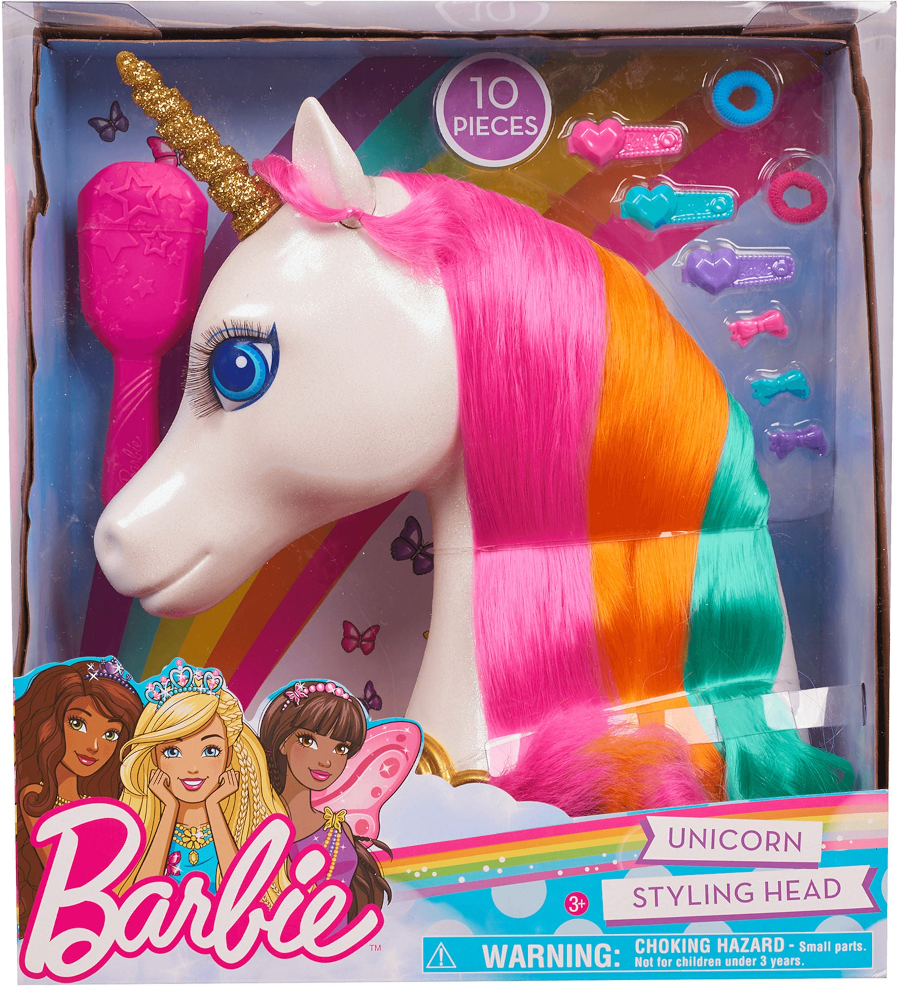 Barbie Stylinghuvud Enhörning
