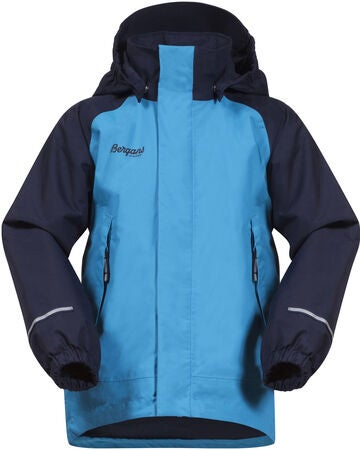 Bergans Storm Insulated Jacka, Polar Blue/Navy