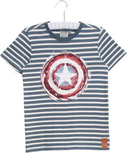 Wheat Disney Captain America T-Shirt, Blå