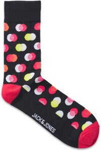 Jack & Jones Finn Socka 4-Pack, Black