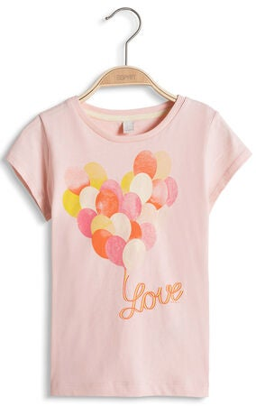 ESPRIT T-shirt Love, Dusty Nude
