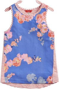 Tom Joule Knyt Topp, Blue Floral