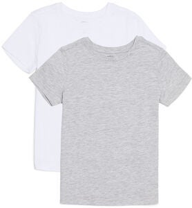 Luca & Lola Adolfo T-Shirt 2-pack, Grey/White