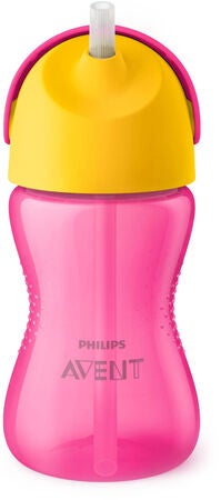 Philips Avent Sugrörsmugg 300ml, Rosa