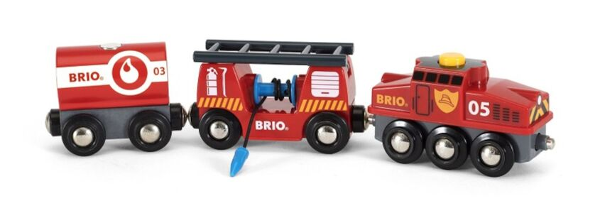 BRIO World 33844 Räddningståg