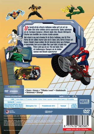Disney DVD Ultimate Spider-man Marvels Mäktigaste Skurkar Vol 2