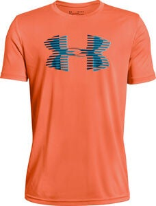 Under Armour Tech Big Logo Solid Tee, Magma Orange