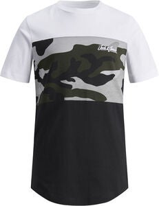 Jack & Jones Camopark T-Shirt, White