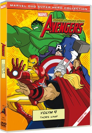 Disney DVD Avengers Thors Kamp Vol 4