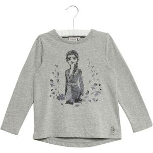 Wheat Frozen Elsa T-Shirt, Melange Grey
