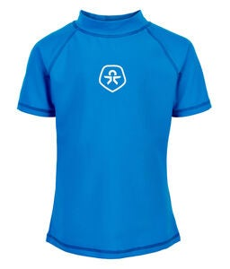 Color Kids UV-T-Shirt UPF 50+, Ultra Blue