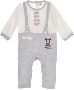Disney Musse Pigg Jumpsuit, Grey