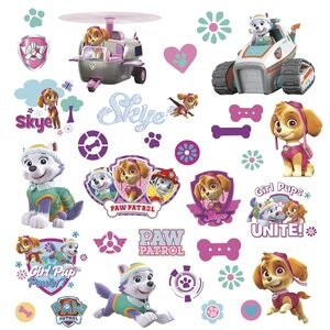 RoomMates Wallsticker Nickleodeon Paw Patrol