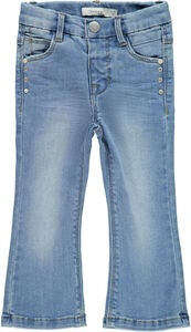 Name it Polly Bootcut Jeans, Light Blue Denim