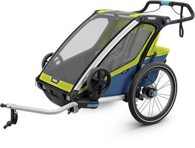 Thule Chariot Sport2 Cykelvagn 2019, Chartreuse