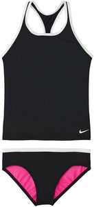 Nike Swim Solid Tankini, Black