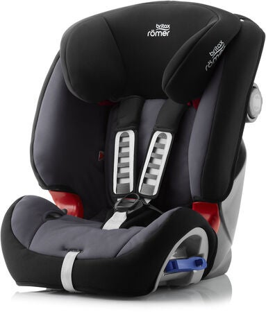 Britax Römer Multi-Tech III, Storm Grey Resepaket Moweo Turn Light Sulky, Black