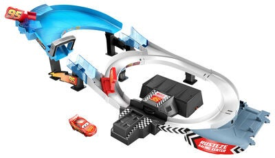 Disney Pixar Cars Rust Eze 95 Boosted Race Track
