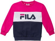 FILA Night Blocked Crew Tröja, Pink