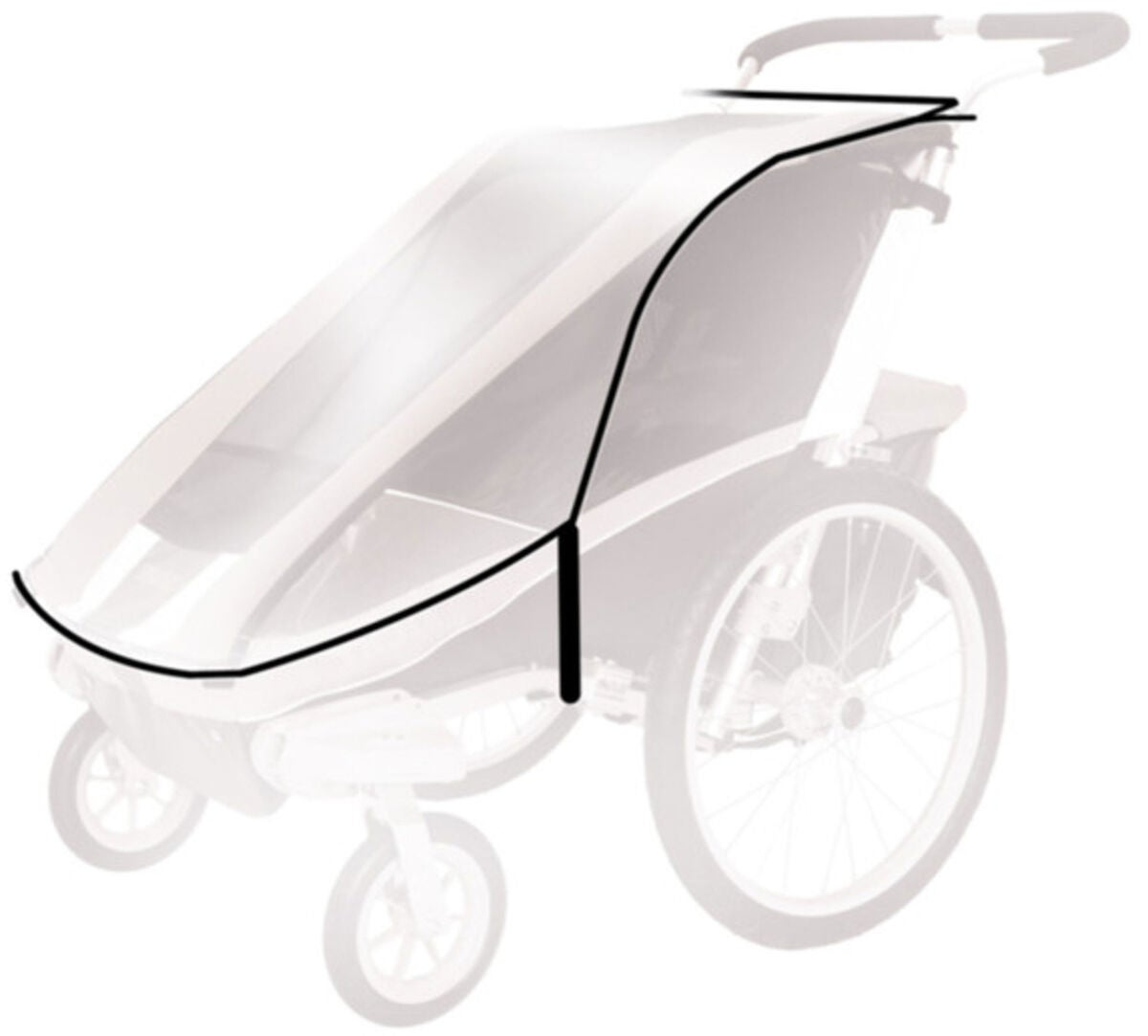Thule Chariot Regnskydd Cougar2/CX2