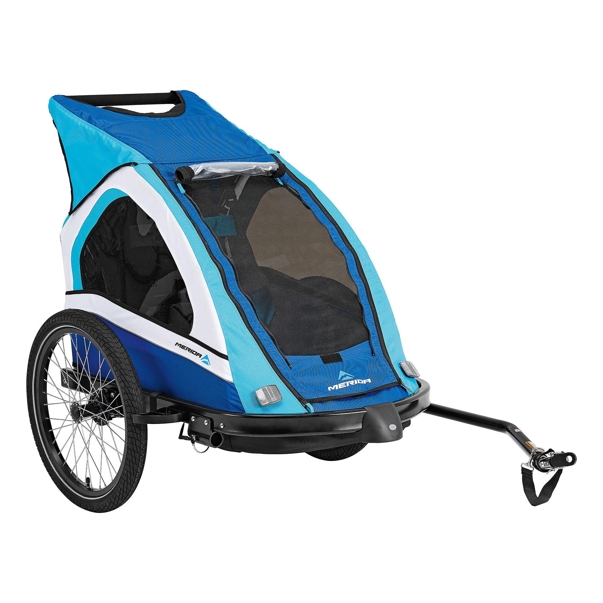 Merida Duo Cykelvagn, Blå