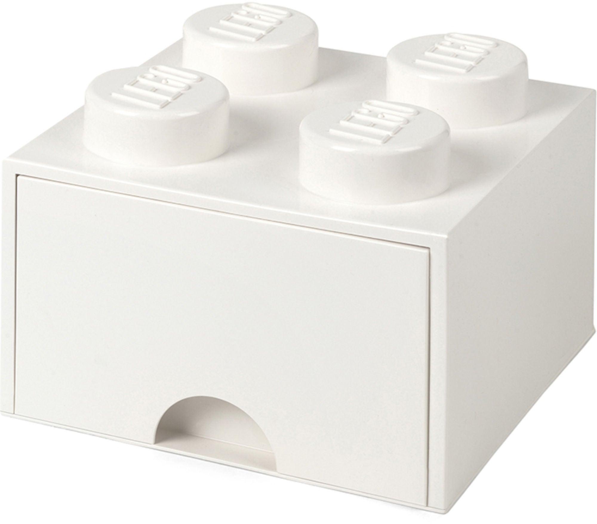 LEGO Förvaring med låda 4, Vit