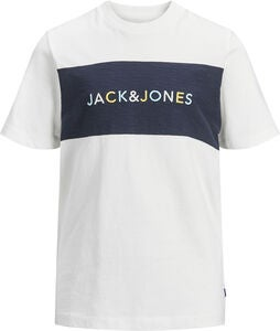 Jack & Jones Albas T-Shirt, Cloud Dancer