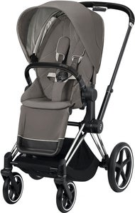 Cybex Priam Sittvagn, Soho Grey/Chrome Black
