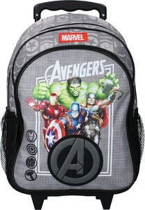 Marvel Avengers Amazing Team Resväska 20L, Grey