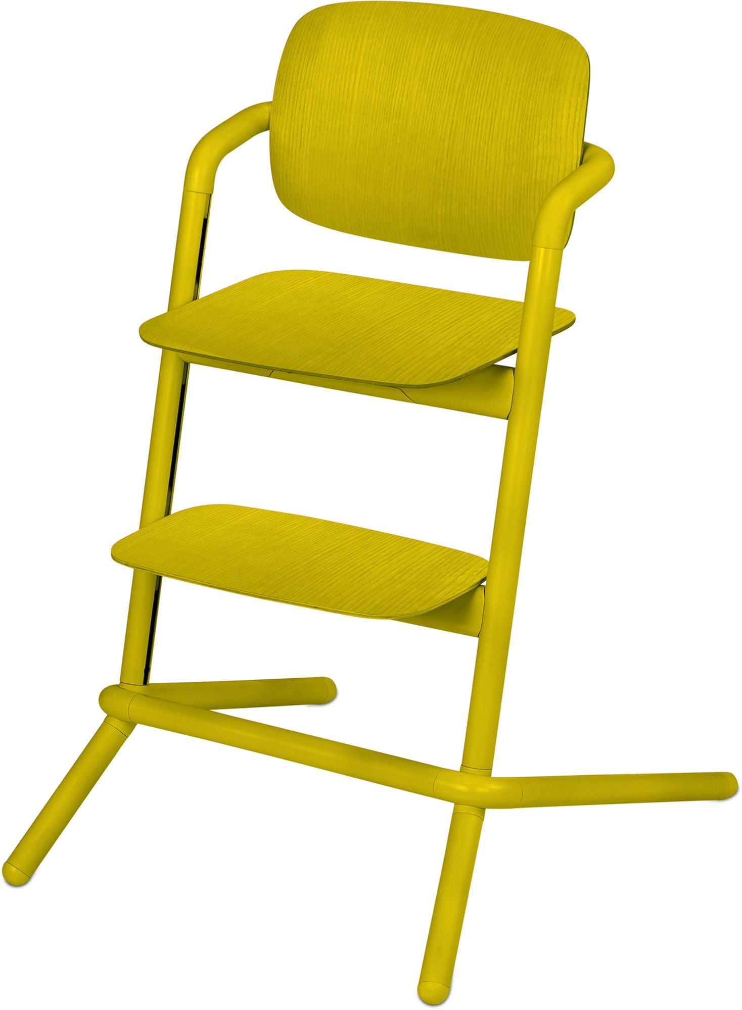 Cybex Lemo Matstol Trä, Canary Yellow