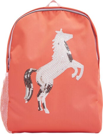 Tom Joule Patchback Ryggsäck, Pink Sequin Horse