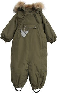 Wheat Nickie Overall, Army Leaf