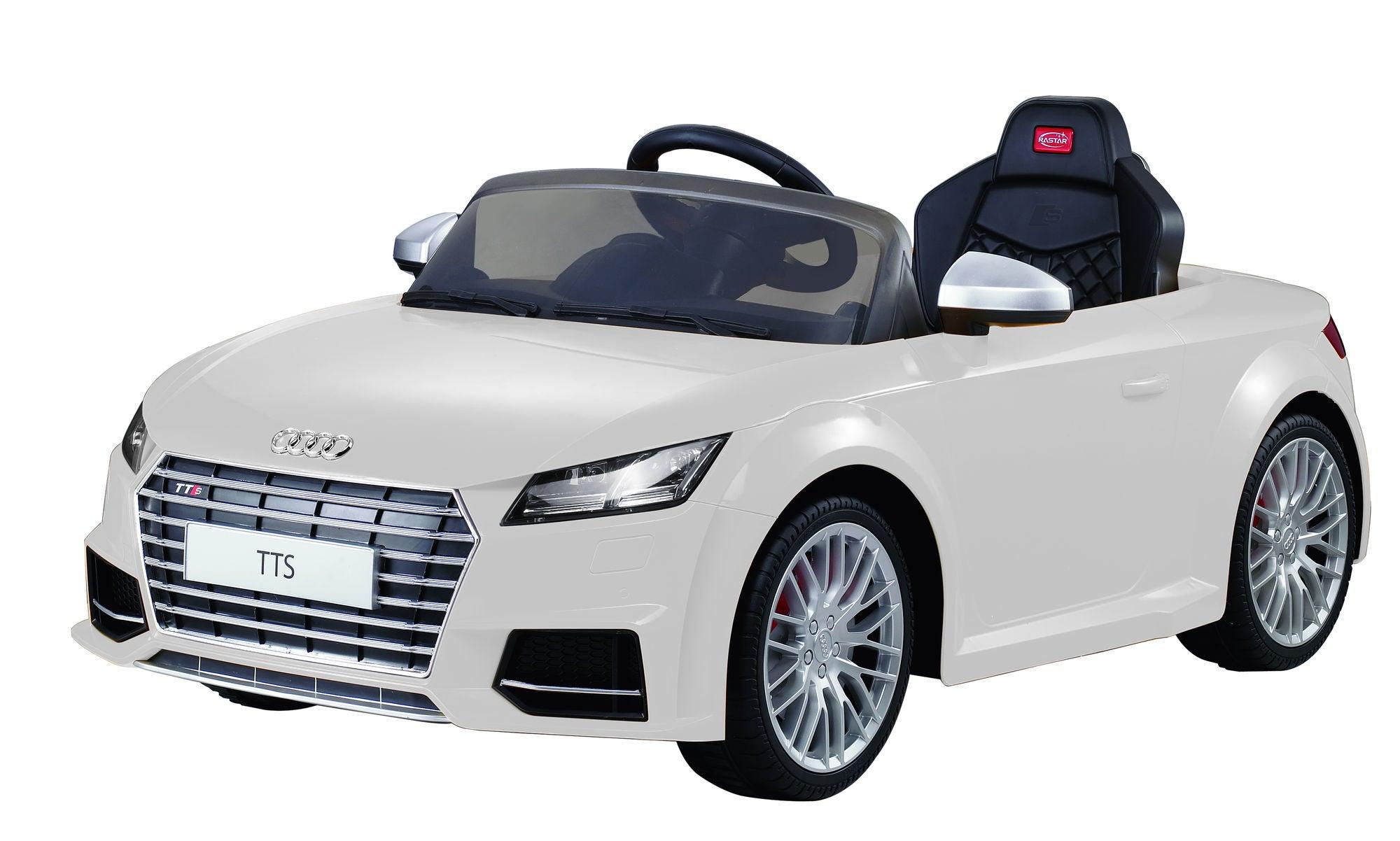 Audi TTS Elbil Vit