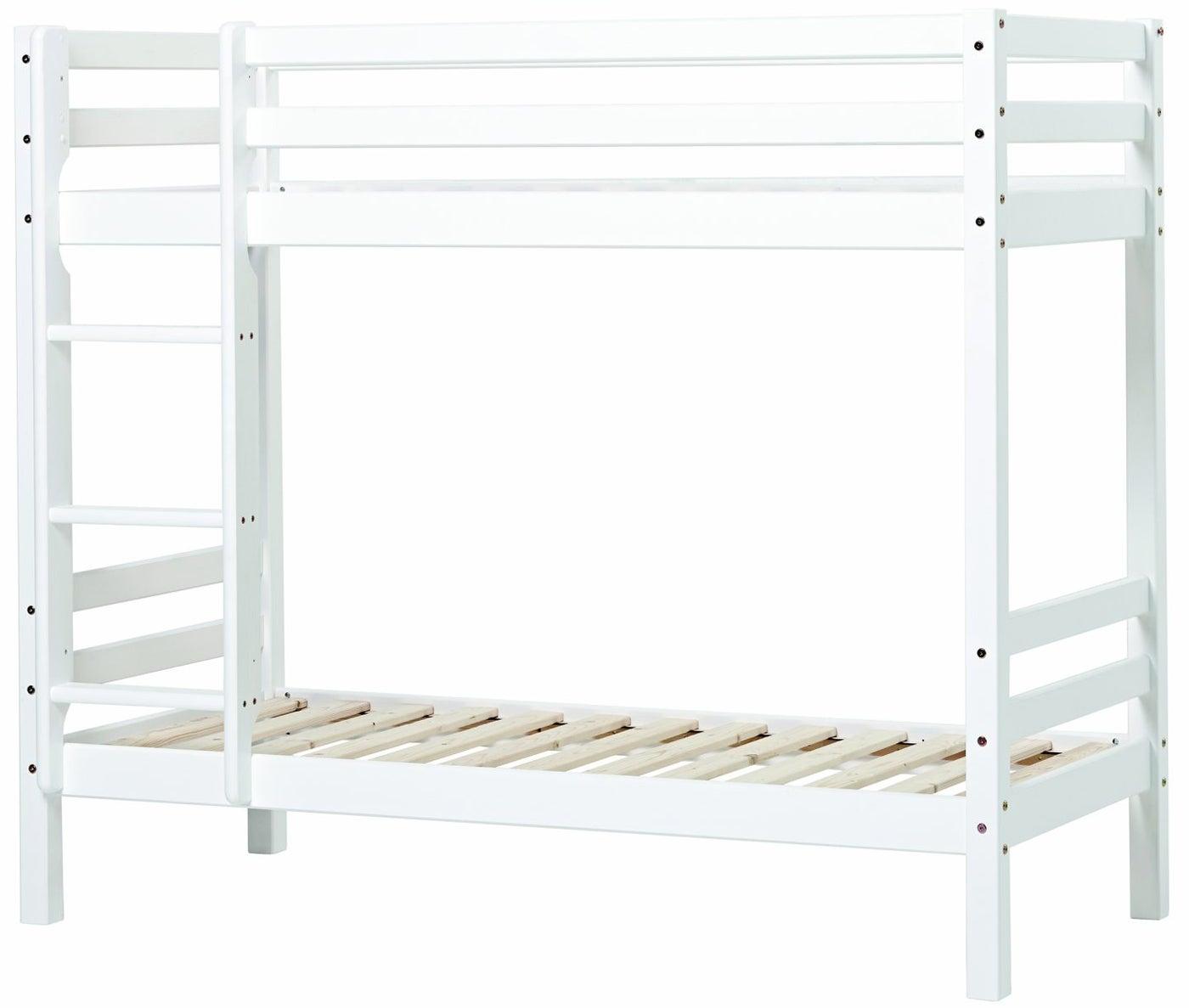 Hoppekids Basic Våningssäng 90x200, Vit