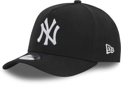 New Era MLB Essential A-frame Kids Keps, Black/White