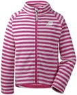 Didriksons Monte Fleecejacka, Plastic Pink Simple Stripe