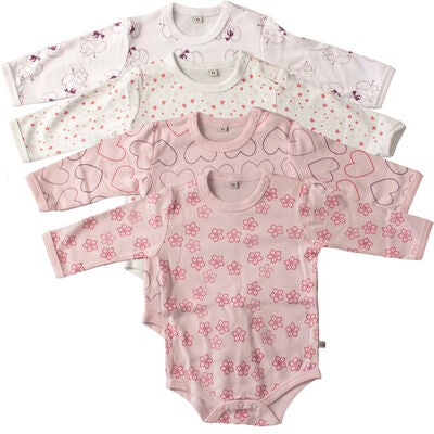 Pippi Body 4-Pack Light Rose