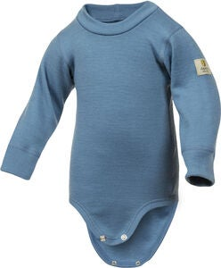 Janus Babywool Body Ull, Blue Ashes