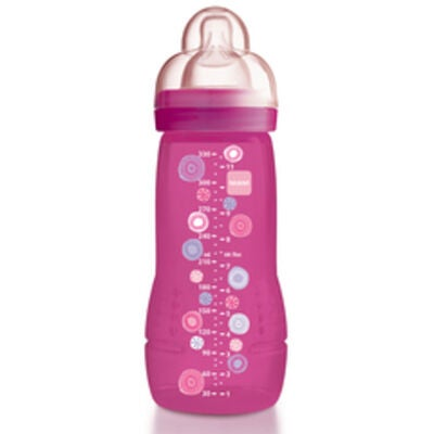 MAM Diflaska Baby Bottle 330 ml Cerise