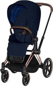 Cybex Priam Sittvagn Plus, Midnight Blue/Rose Gold