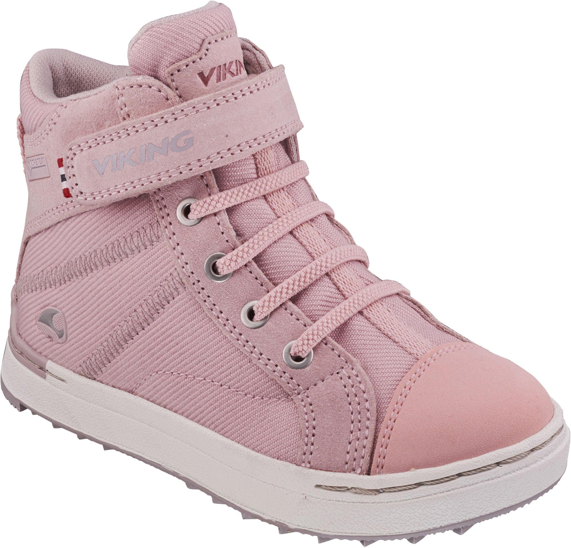 Viking Sagene Mid GTX Sneaker, Light PinkViolet 29 Viking
