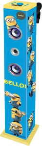 Minions Sound Tower Bluetooth Med Mikrofon