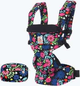 Ergobaby Omni 360 Bärsele French Bull Flores, Blomstermönster