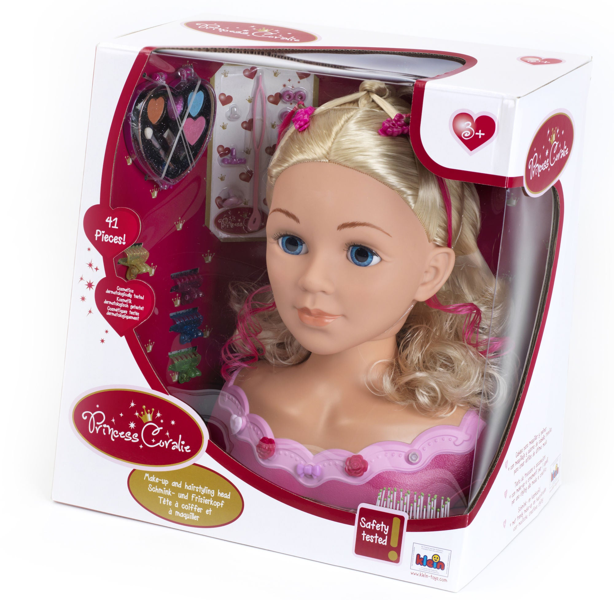 Klein Toys Princess Coralie Frisyrdocka Emma