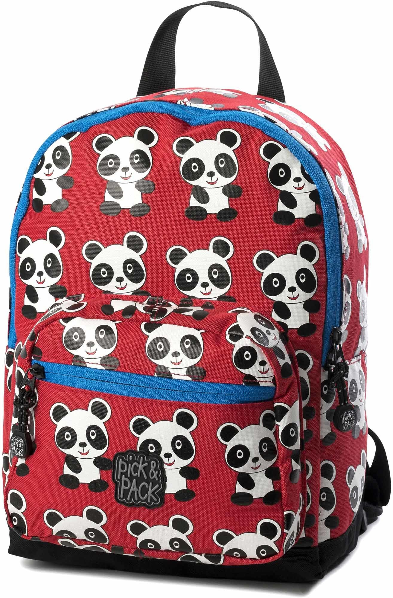 Pick & Pack Ryggsäck Panda, Red