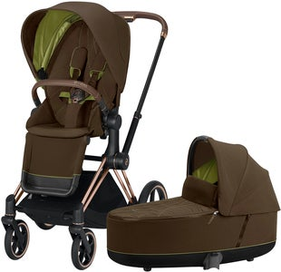 Cybex Priam Duovagn, Khaki Green/Rose Gold